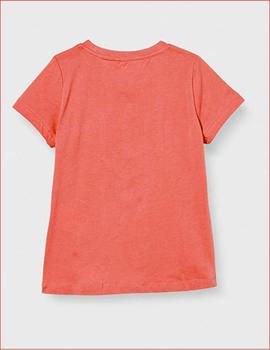 Camiseta Name It 13182404 coral para niña