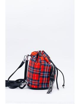 JOELY COOLWAY BOLSO ROJO CUADROS