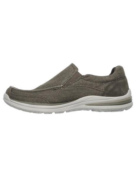 Diariamente cavar Tengo una clase de ingles  Zapato Skechers Hombre 65195 Beisge