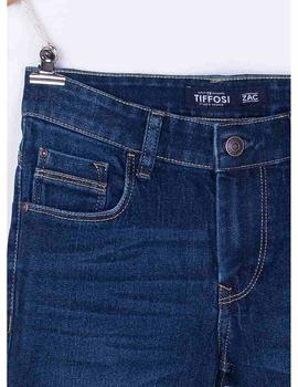Short Tiffosi Niño Bermuda Denim Azul