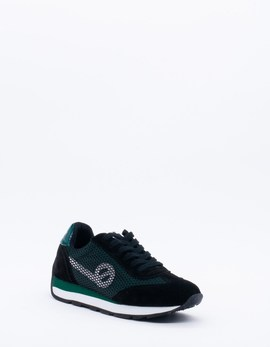 Deportivo CITY RUN JOGGER NO NAME negro/verde muje