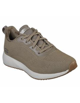 Deportivo SKECHERS Mujer Textil Taupe 32505